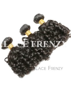 Bouncy Curls Virgin Human Hair Layered Bundle Hair