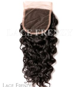 Water Wave - 4x4 Inches - Lace Top Closure