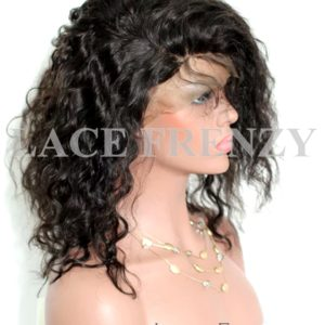 Annetonia - Wavy - Indian Virgin Human Hair - Full Lace Wig