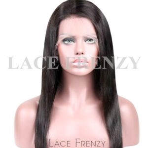 Indian Remy Human Hair - Light Yaki - 360 Frontal Wig