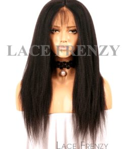 Kaia - Yaki Straight- Virgin Human Hair - Full Lace Wig