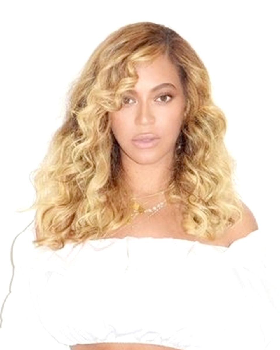 Beyonce' - Loose Curls- Custom Celebrity Lace Wig