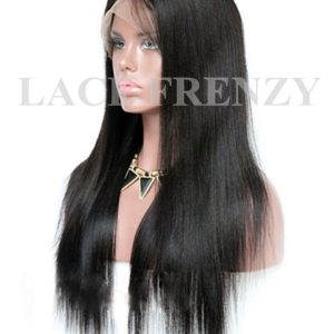 Donnatela - Straight Chinese Virgin Hair - Silk Top Lace Front Wig