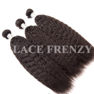 Kinky Straight- Virgin Human Hair -Layered Bundle Hair