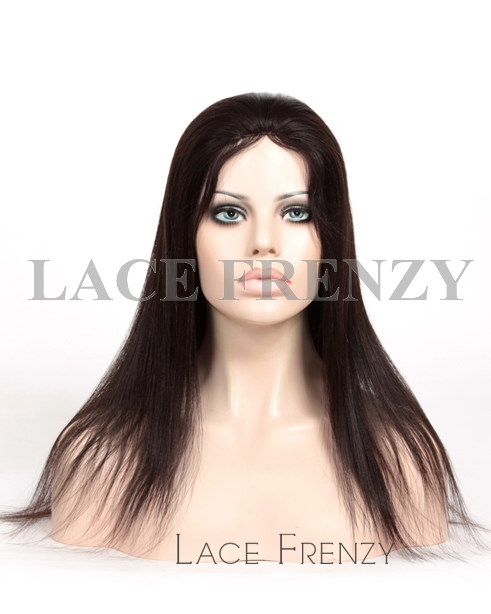 Deidra- Light Yaki - Malaysian Virgin Hair Glueless Lace Wig