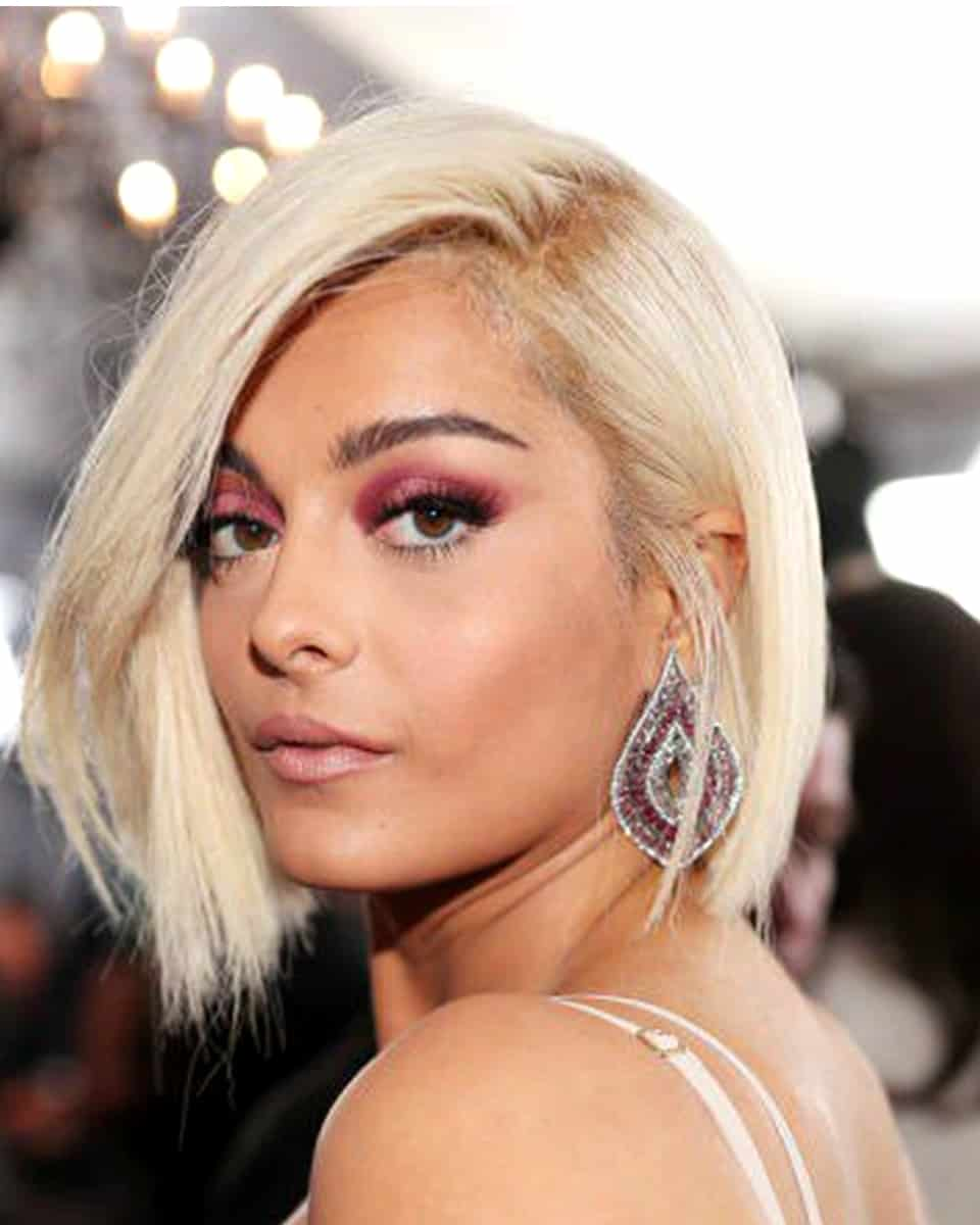 Bebe Rexha - Straight Bob Cut- Custom Celebrity Lace Wig