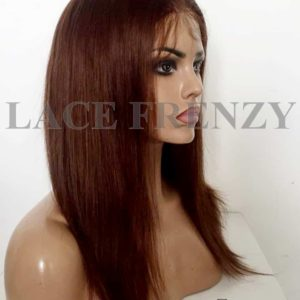 Virgin Human Hair - Straight - Full Thin Skin Wig