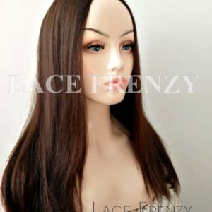 Small Layer Straight Brazilian Human Hair Jewish Wig