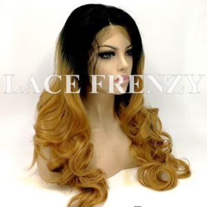 Melani Two Toned Body Curl - Lace Front Wig