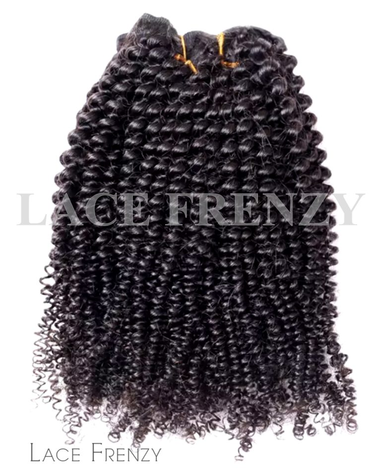 Kinky Coily - Grade 8A Virgin Hair -100G Machine Weft Bundle