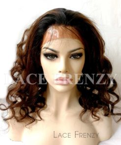 Custom - Body Curls - Virgin Human Hair- Full Lace Wig w/Thin Skin
