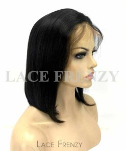 Dhara - 12 Inches - Bob Styled - Indian Remy Hair - Lace Front Wig