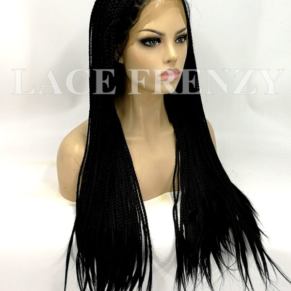 23d4aa9fbd6 Misty - 22 Inches - Box Braids - Lace Front Wig