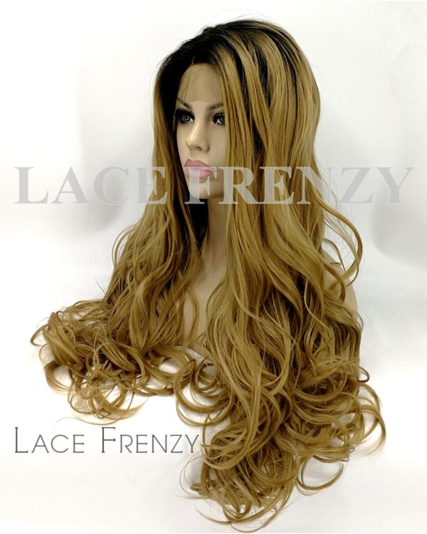 Taylor - Two Toned - Loose Body Curl - Lace Front Wig