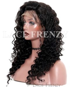 Brazilian Virgin Human Hair -Loose Wave- 360 Frontal Wig