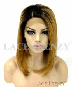 Summer - Straight Ombre' Bob Cut- Lace Front Wig