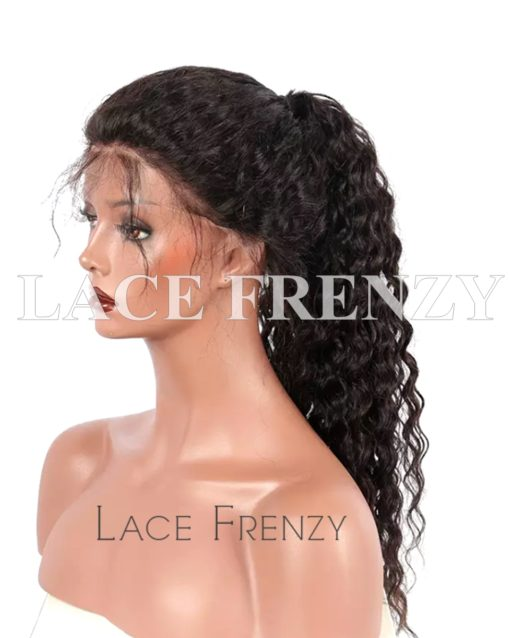 Brazilian Virgin Human Hair -Deep Wave- 360 Frontal Wig