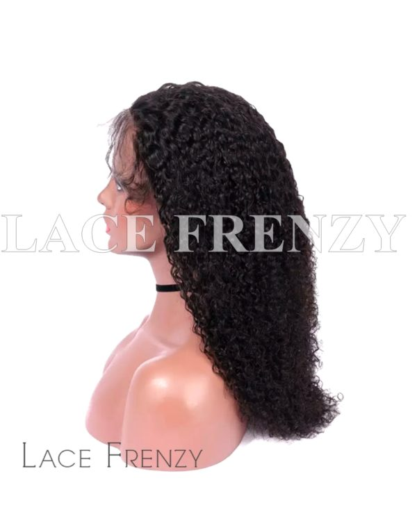 Indian Remy Human Hair - Afro Curly- 360 Frontal Wig