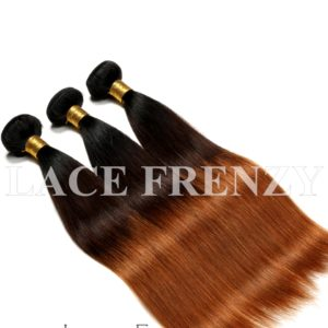 3 Toned Virgin Human Hair Straight -Layered Bundle Hair