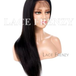 Custom - Straight - Silk Top Full Lace w/ Thin Skin Perimeter Wig
