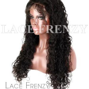 Brazilian Virgin Human Hair -Water Wave- 360 Frontal Wig