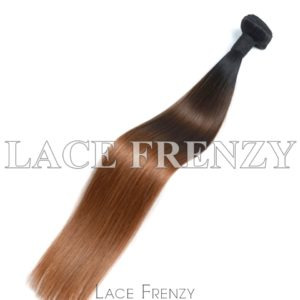 Two Toned Straight - Virgin Human Hair - 100g Machine Weft