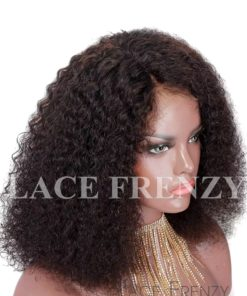 Niecy - Malaysian Virgin Hair - Afro Kinky Curly - Full Lace Wig