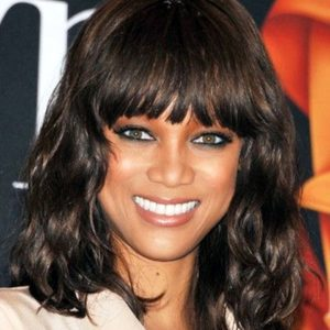 Tyra Banks Fringe Bang Loose Wave Custom Celebrity Lace Wig