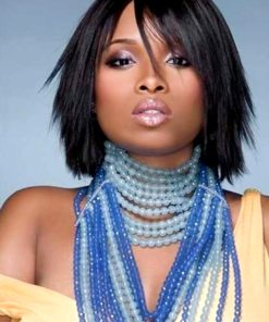 Jennifer Hudson Layered Light Yaki Custom Celebrity Lace Wig