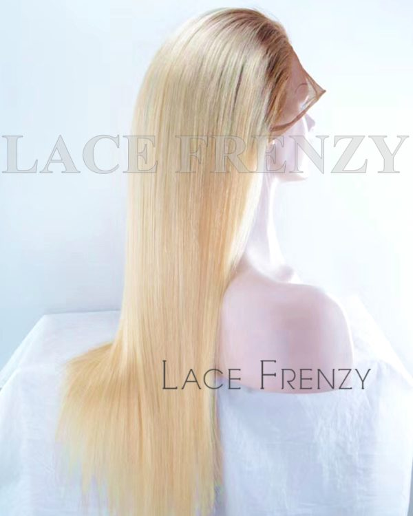 Luna Virgin Human Hair Ombre' Straight Full Lace Wig
