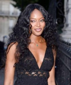 Naomi Campbell Wavy Custom Celebrity Lace Wig