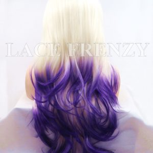 Opal Two Toned Body Curl Lace Front Wig