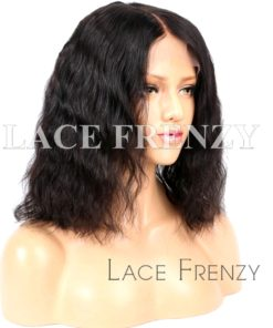 Loose Wave Virgin Human Hair 13x6 Inches Lace Front Wig