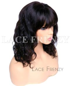 Armarna Loose Wave Handtied Bang Virgin Human Hair Lace Front Wig
