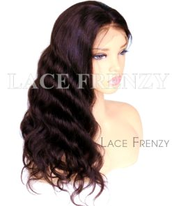 Grade 10a Virgin Human Hair 13x6 Inches Deep Part Lace Front Wig
