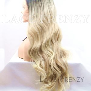 Emersynn 22 Inches Ombre' Slight Wave Lace Front Wig