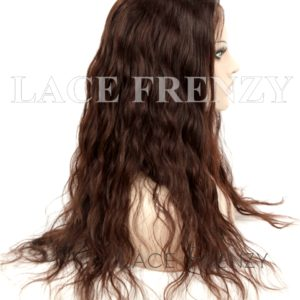 Teagan Natural Wave 22 Inches European Hair Silk Top Full Lace Wig