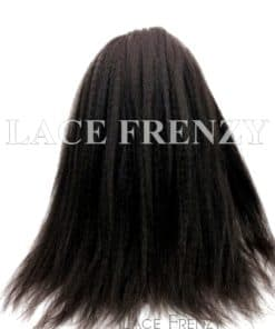 Custom Kinky Straight Silk Top Full Lace w/ Thin Skin Perimeter Wig