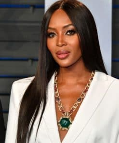 Naomi Campbell Silky Straight Custom Celebrity Lace Wig