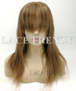 Lexi Natural Straight Handtied Bang Custom Full Lace Wig