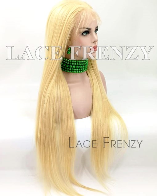 Marilyn Natural Straight Chinese Virgin Hair Full Lace Wig