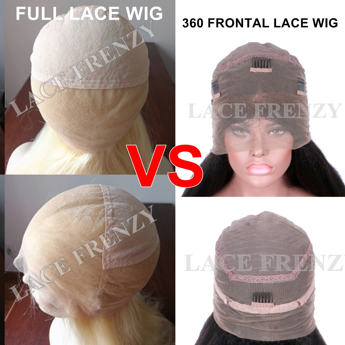360 Frontal Lace Wigs Vs. Full Lace Wigs