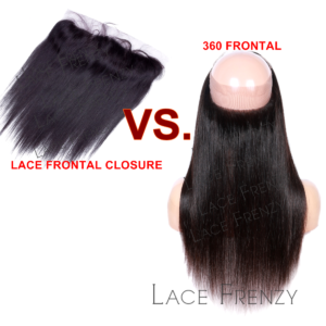 360 Lace Frontal Vs. Lace Frontal Closures Which is Better ?