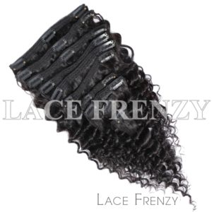 Grade 9A Virgin Human Hair Deep Wave 9pcs Clip-In Hair Extension
