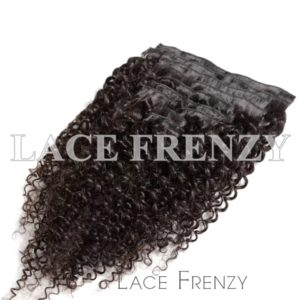 Grade 9A Virgin Human Hair Curly 9pcs Clip-In Hair Extension