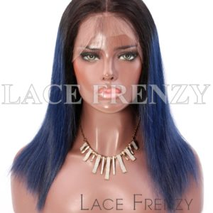 MariahLynn Bob Cut Two Toned Virgin Human Hair Lace Front Wig