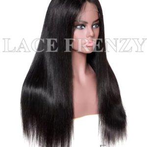 Virgin Human Hair Straight Illusion Scalp 360 Wig