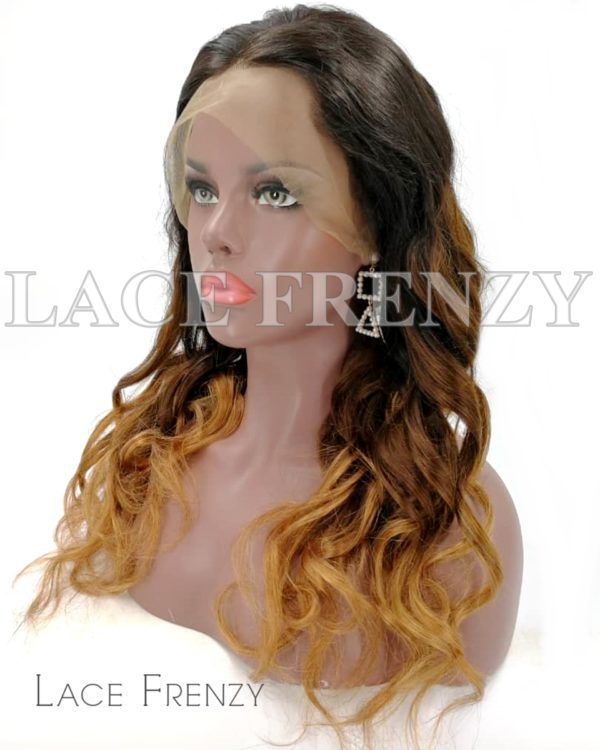 Burmese Virgin Human Hair NC/6/30 Loose Curls 360 Frontal Wig