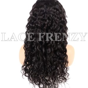 Virgin Human Hair Water Wavy Illusion Scalp 13x6 Lace Front Wig