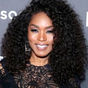 Angela Bassett Long Curly Celebrity Custom Lace Wig